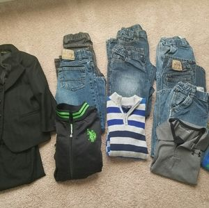 Boys clothes lot size 6 and 6h